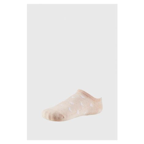 Dámské nízké ponožky Cordelia oranžová Ysabel Mora