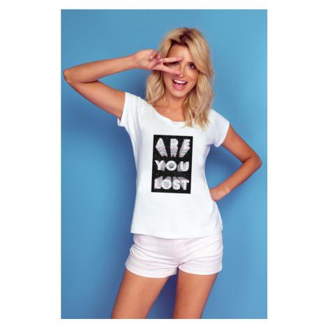 Dámské tričko s nápisem Are you lost K514