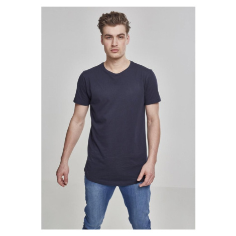 Shaped Long Tee - navy Urban Classics
