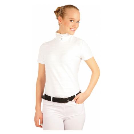 LITEX Triko dámské s krátkým rukávem. J1107100 Bílá