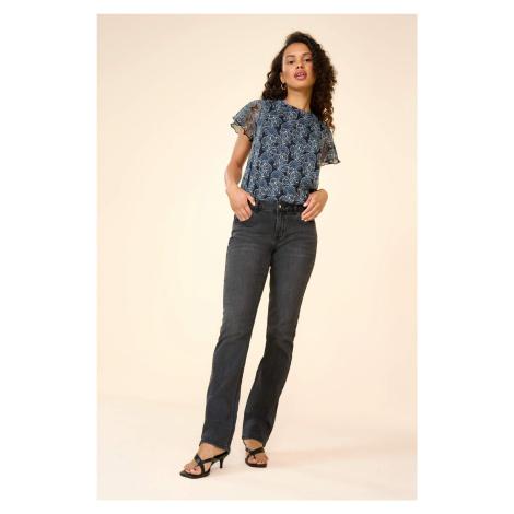 Straight džíny