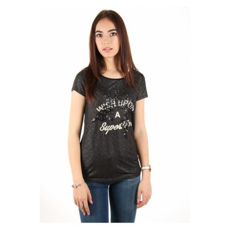 Guess dámské černé tričko