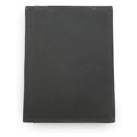 Černá kožená dokladovka Kennedien Arwel