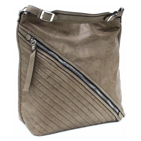 Khaki dámská praktická kabelka přes rameno Marielle Tapple