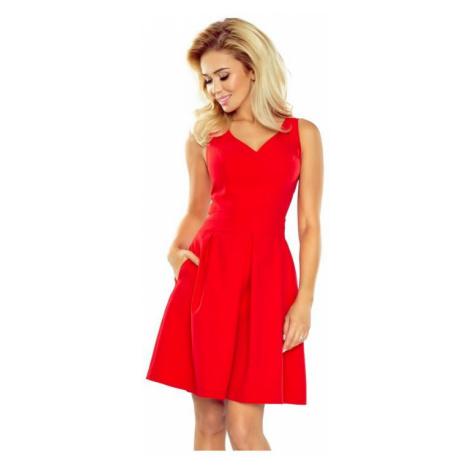 Dámské šaty Numoco 160-3 | červená