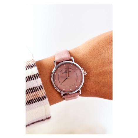 Watch On A Leather Strap Giorgio&Dario Pink Kesi