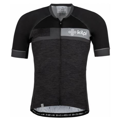 Pánský cyklistický dres KILPI TREVISO tmavě šedá