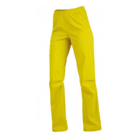 Dámské kalhoty dlouhé Litex 99584 | žlutozelená