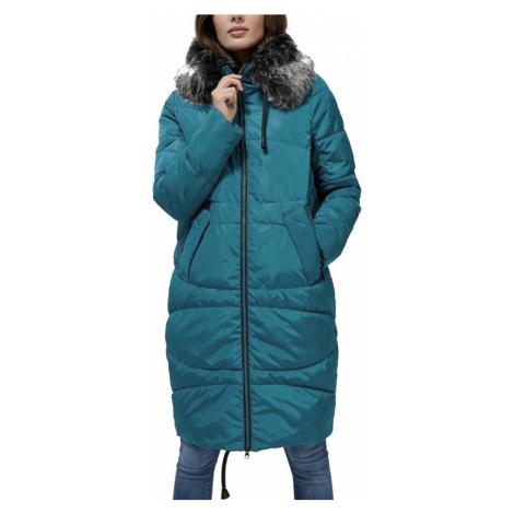 Kabát Moodo Z-KU-3306 teal green