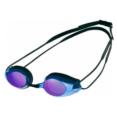 Arena TRACKS MIRROR SWIM GOGG modrá - Plavecké brýle
