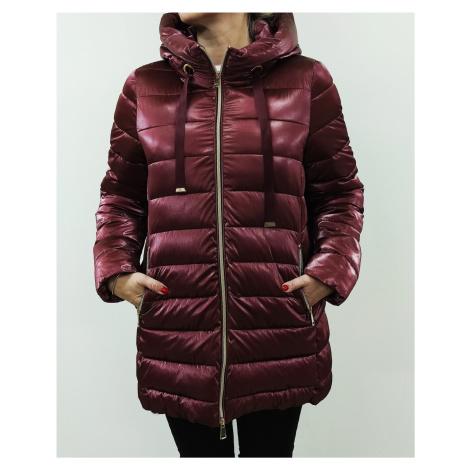 Kabát zimní vínový- 361560