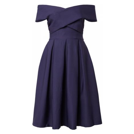 Chi Chi London Koktejlové šaty 'Bay' námořnická modř