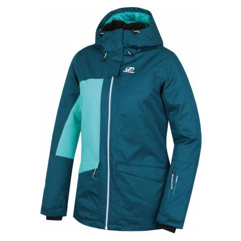 HANNAH ROLF Dámská lyžařská bunda 10007208HHX01 deep teal mel/pool green