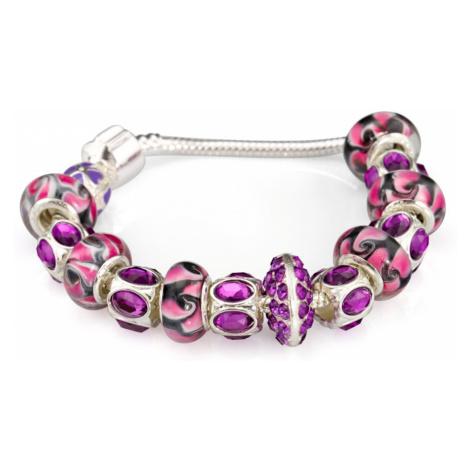 Linda's Jewelry Náramek s přívěsky Crazy INR002