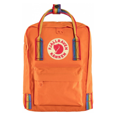 Fjällräven Kånken Rainbow Mini Burnt Orange oranžové F23621-212-907
