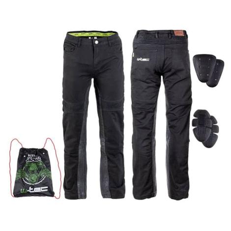 Pánské moto kalhoty W-TEC Raggan Barva černá