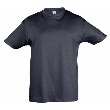 SOLS Dětské triko s krátkým rukávem REGENT KIDS 11970318 Navy SOL'S