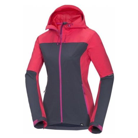 Northfinder MARIE červená - Dámská softshellová bunda
