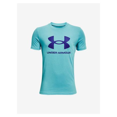 Sportstyle Logo Triko dětské Under Armour Modrá