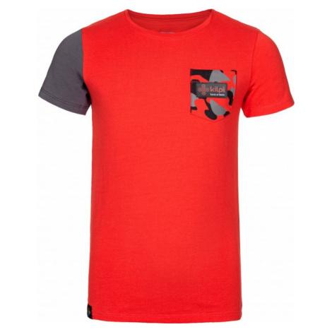 Dětské tričko KILPI VIVAN-JB červená
