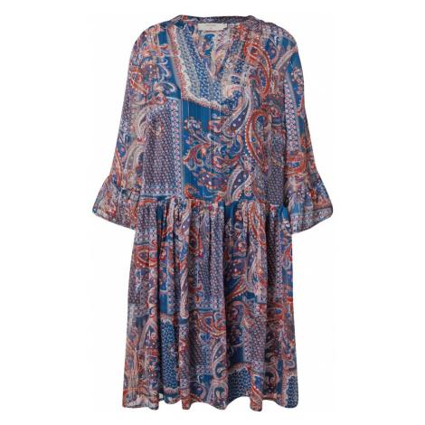 Cream Šaty 'Sheena' modrá / mix barev