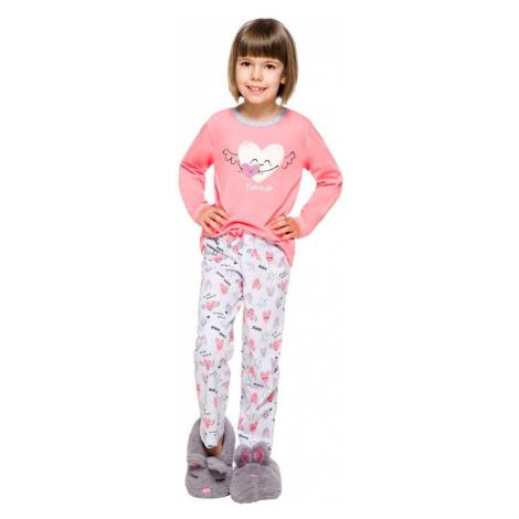 Taro Dětské pyžamo Maja růžové