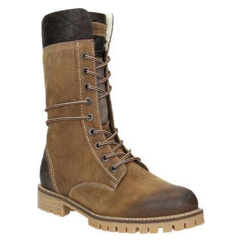 Dámská zimní obuv s kožíškem Weinbrenner