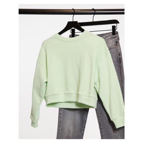 Pull&Bear sweatshirt in green