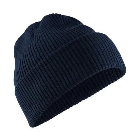 Čepice CRAFT CORE Rib Knit UNI tm. modrá