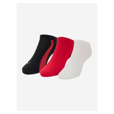 Ponožky 3 páry Puma Barevná
