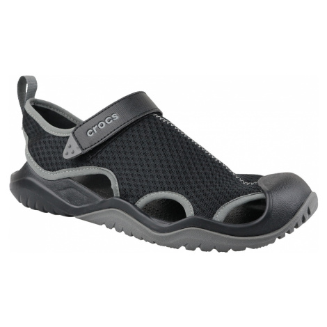 CROCS M SWIFTWATER MESH DECK SANDAL 205289-001