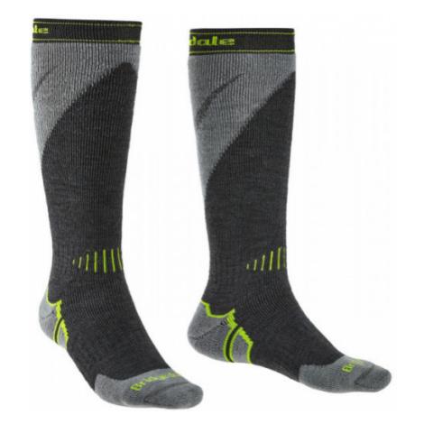 Pánské ponožky Bridgedale Ski Midweight + Gunmetal