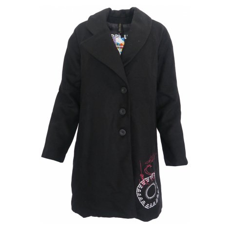 Černý kabát Desigual