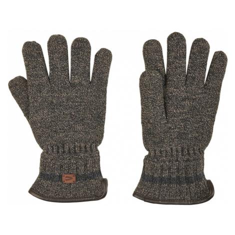 Rukavice Camel Active Handschuh-Strick - Hnědá