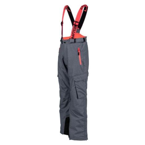 Lewro NILES růžová - Dětské snowboardové kalhoty