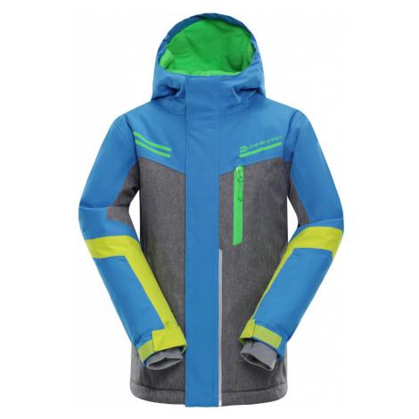 ALPINE PRO SARDARO Dětská lyžařská bunda KJCM122674 Blue aster