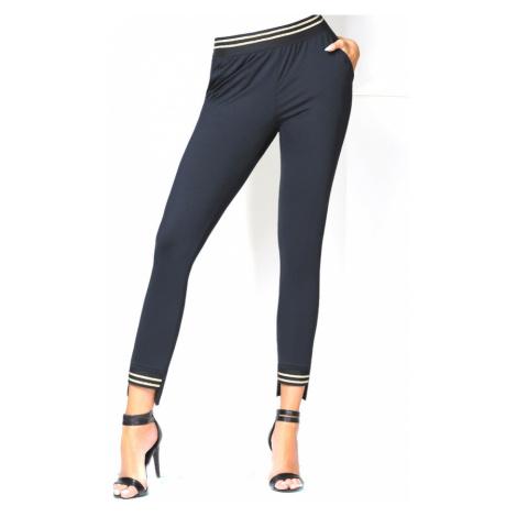 Dámské kalhoty BasBleu Marisa | černá Bas Bleu