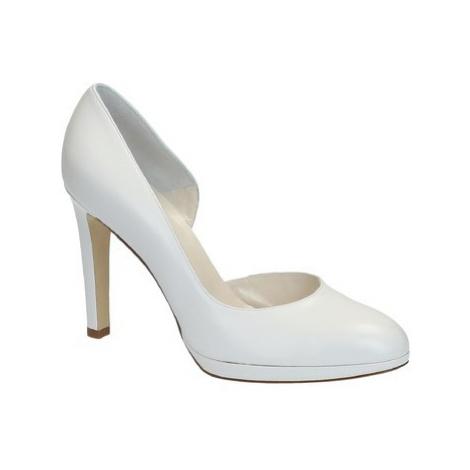 Leonardo Shoes S2616 CAPRETTO BIANCO T 3109P F LICIA Bílá