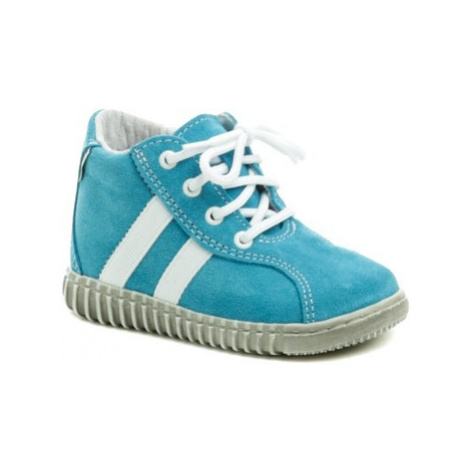 Pegres 1095 modré dětské botičky Modrá
