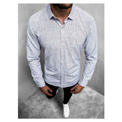 Bílá košile se vzorem O/3010/04