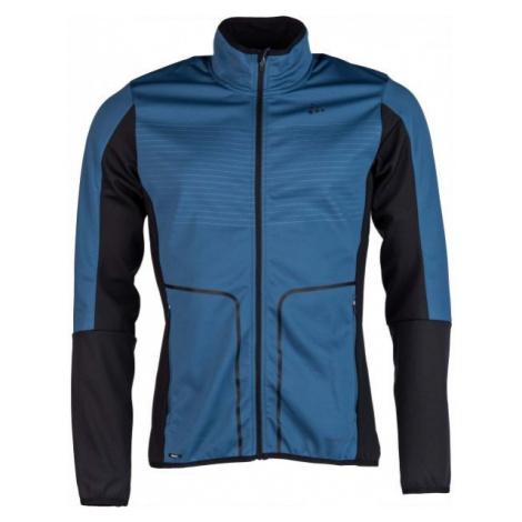 Craft DISCOVERY modrá - Pánská funkční softshellová bunda