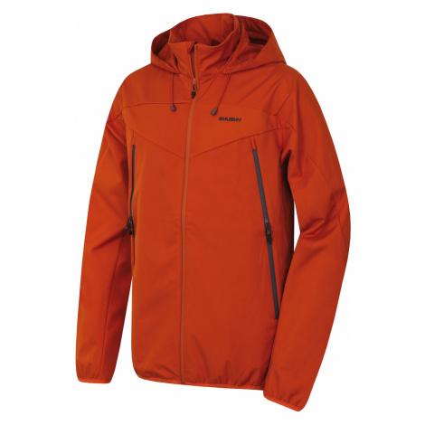 Men's softshell jacket Sonny M brick Husky