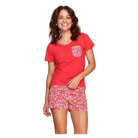 Dámské pyžamo Agnes červené Taro