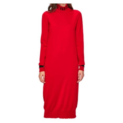 Vlněné červené šaty - ICEBERG