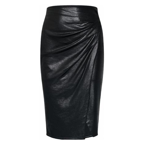 Kožená pouzdrová sukně - PINKO