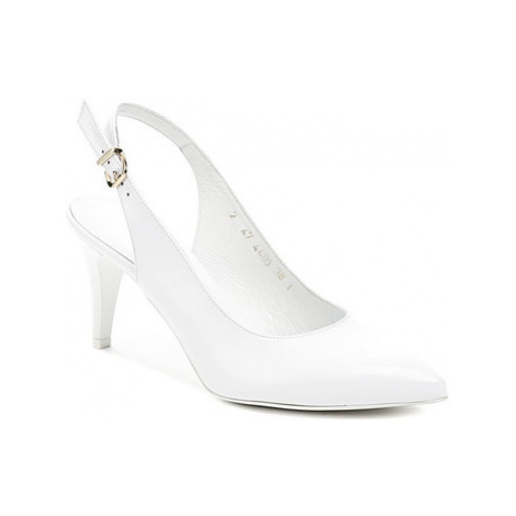 Anis AN4403 bílá dámská svatební obuv Bílá