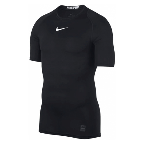 Nike Pro pánské kompresní tričko černé