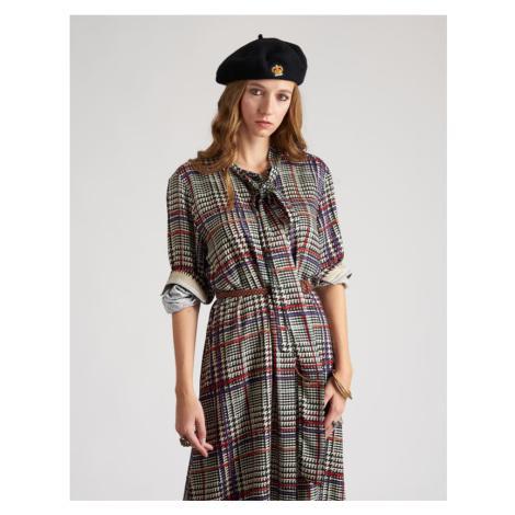 Šaty La Martina Woman Dress Long Sleeves Print - Různobarevná