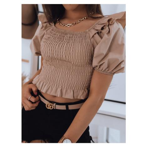 Women's blouse PAOLA beige Dstreet RY1693
