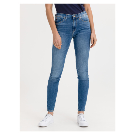 Flex Como Jeans Tommy Hilfiger Modrá